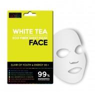 Textilní pleťová maska - elixír mládí a energie 20+ / white tea