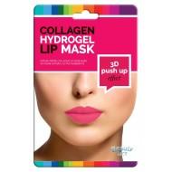 Kolagenová hydrogelová maska na rty 3D push-up efekt