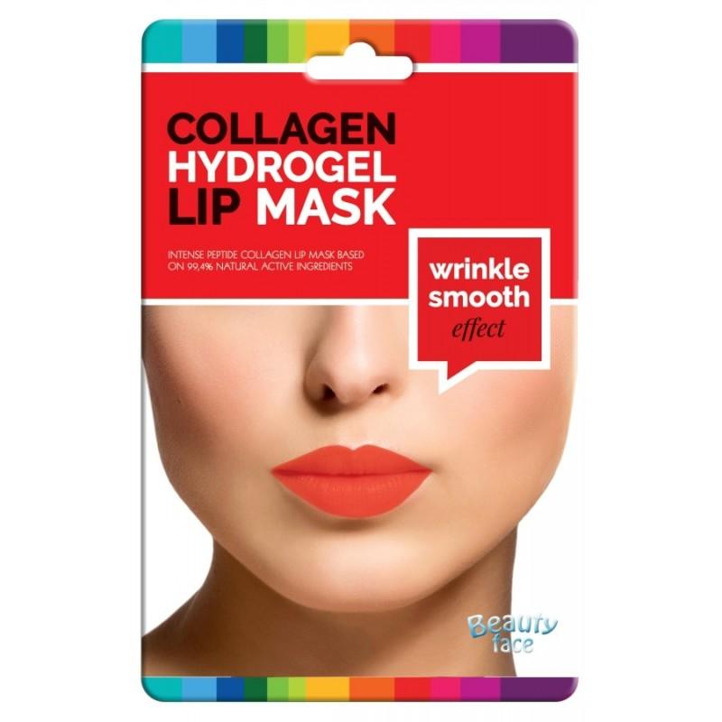 Kolagenová hydrogelová maska na rty pro okamžitý vyhlazující efekt