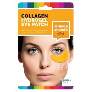 Kolagenová hydrogelová maska pod oči se zlatem a kyselinou hyaluronovou 25+