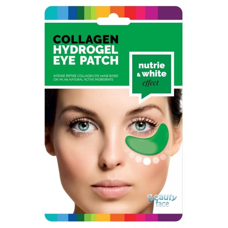 Kolagenové hydrogelové masky pod oči pro vyživující a rozjasňující efekt