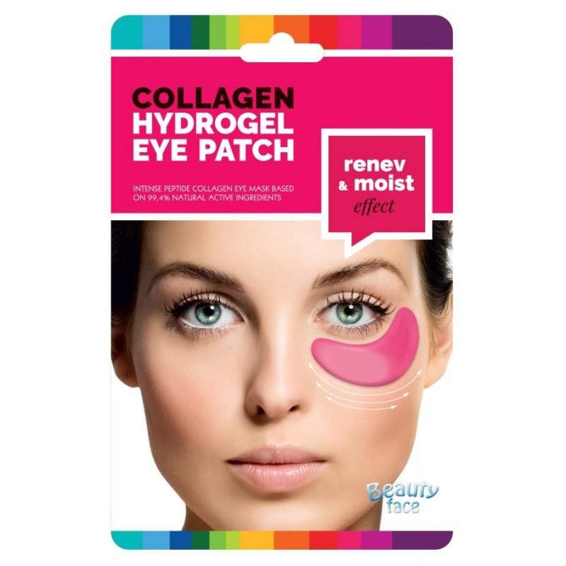 Kolagenové hydrogelové masky pod oči pro obnovující a vyživující efekt