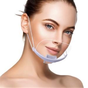 Kosmetická ochranná maska -  průhledná