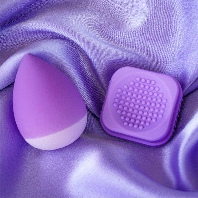 Revoluční houbička na make-up Super Sponge V2 - Purple