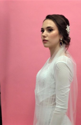 Backstage z Workhopu svatebního líčení od Lori Leib